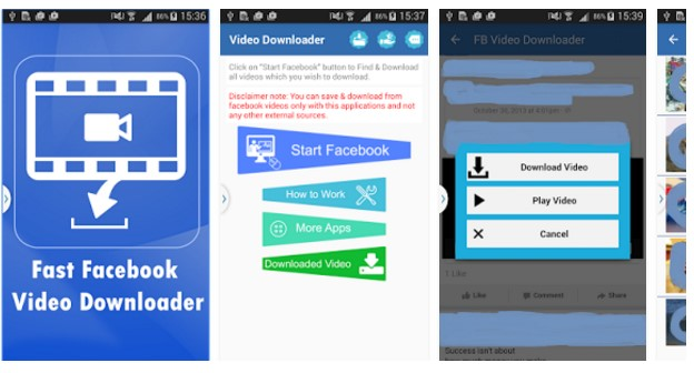 easy facebook vieo downlaoder apps