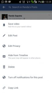 cara dowbload video facebook dengan android